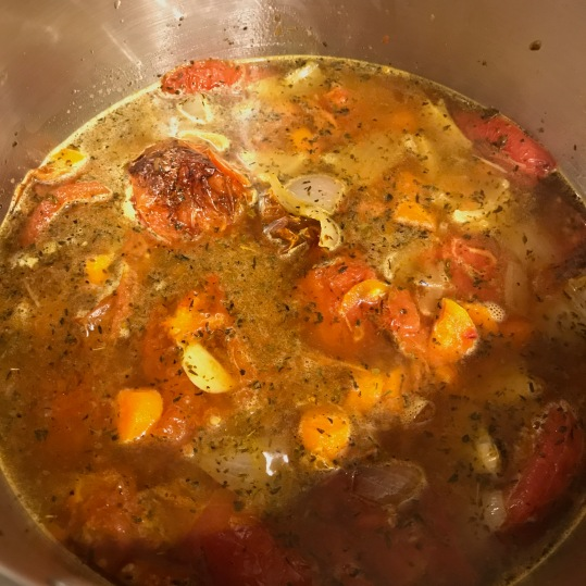 Roasted Tomato Bisque veggies2