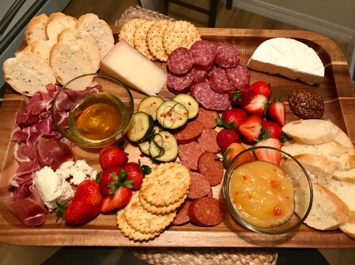 Date Night charcuterie board