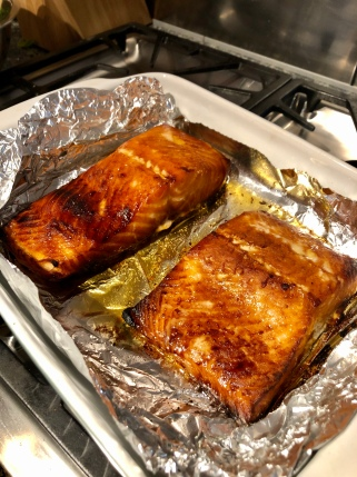 Oven Baked Hot Smoked Salmon