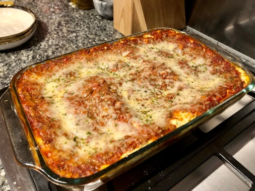 Low Fat Lasagna